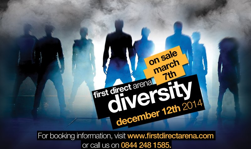 Buy tickets for Diversity