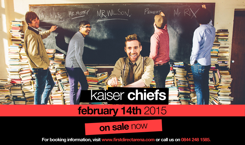 Buy tickets for Kaiser Chiefs