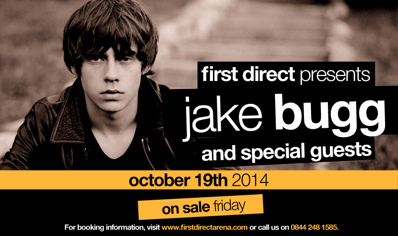 Buy tickets for Jake Bugg