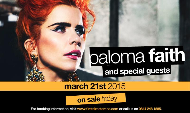 Buy tickets for Paloma Faith