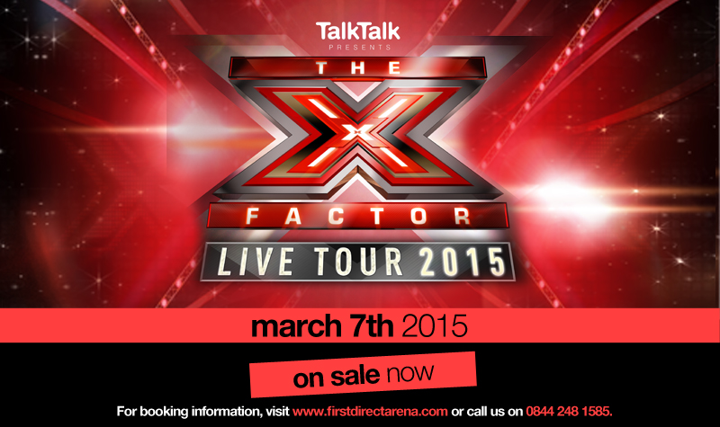 Buy tickets for X FACTOR