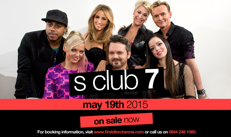 Buy tickets for S Club 7