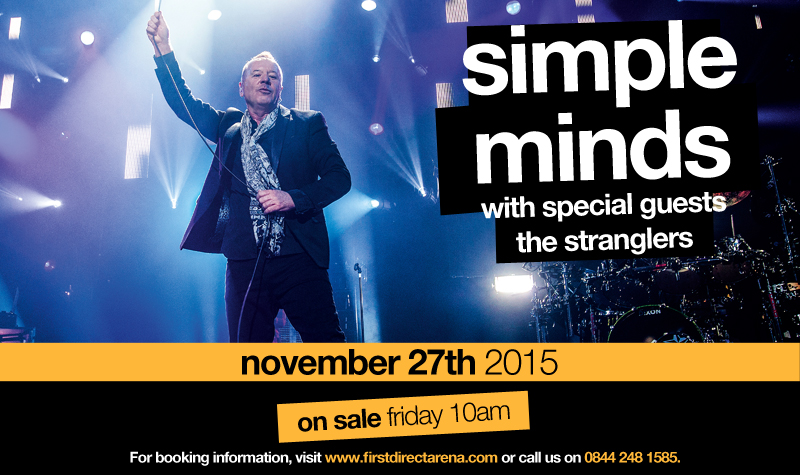 Buy tickets for Simple Minds