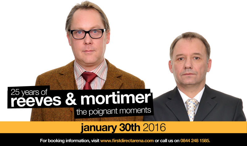 Buy tickets for Reeves and Mortimer