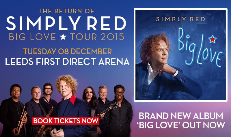 Buy tickets for Simply Red