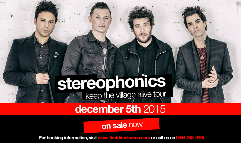 Buy tickets for Stereophonics