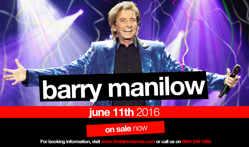 Buy tickets for Barry Manilow