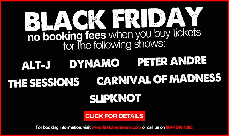 Buy tickets for Black Friday