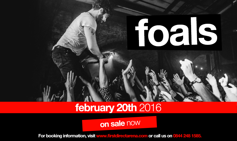 Buy tickets for Foals