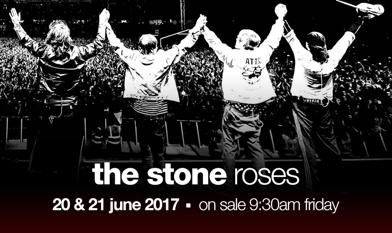 Buy tickets for The Stone Roses